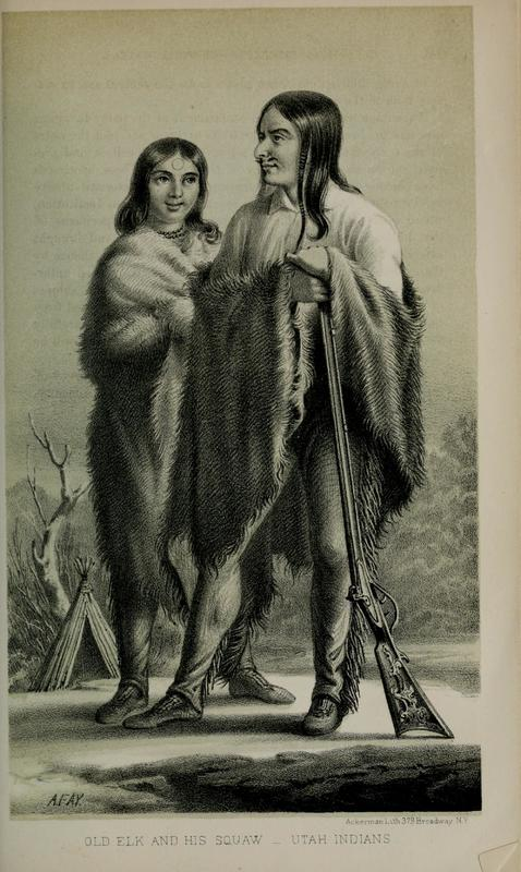 Old Elk and his Wife