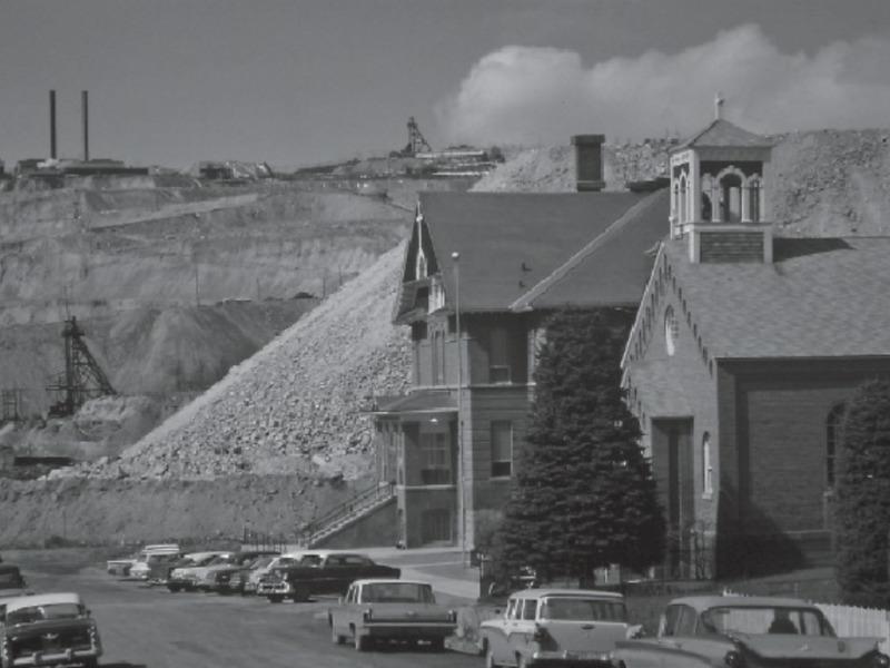 Berkeley Pit, McQueen Neighborhood
